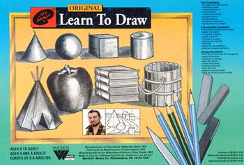 Jon Gnagy Learn To Draw set