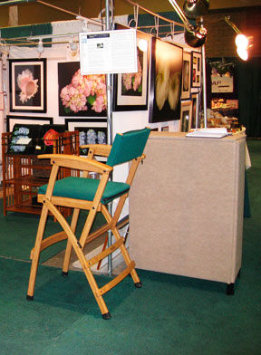 2008 Connecticut Flower and Garden Show with the artist, Mary Ahern