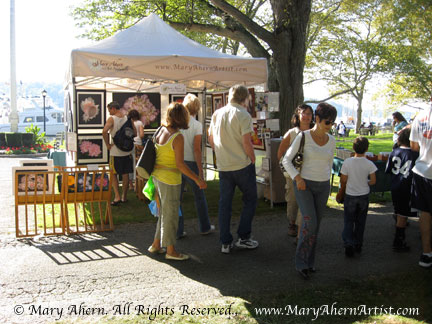 My booth will be located in the same position as last year's Great Cow Harbor Day