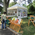 Mary Ahern Artist at the Northport Art in the Park