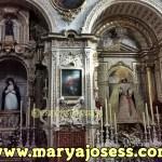 Semana Santa en Granada: mesa de póstula