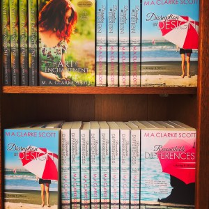 M. A. Clarke Scott author bookshelf titles women's fiction