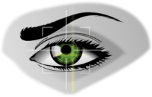 figure of an eye