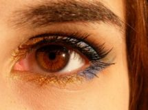 eye of a lady