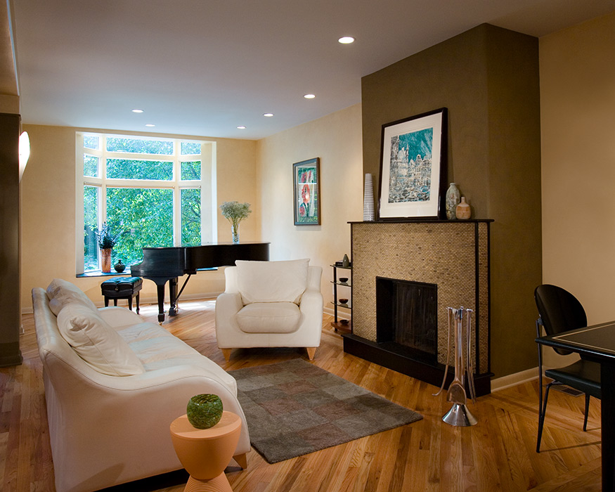 urban house addition and renovation Mary Cerrone Architecture & Interiors Pittsburgh