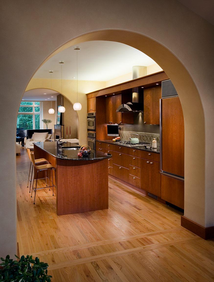 urban house renovation, kitchen. mary cerrone architecture, pittsburgh