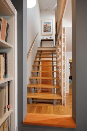 open stair house on the park Mary Cerrone Architecture & Interiors Pittsburgh