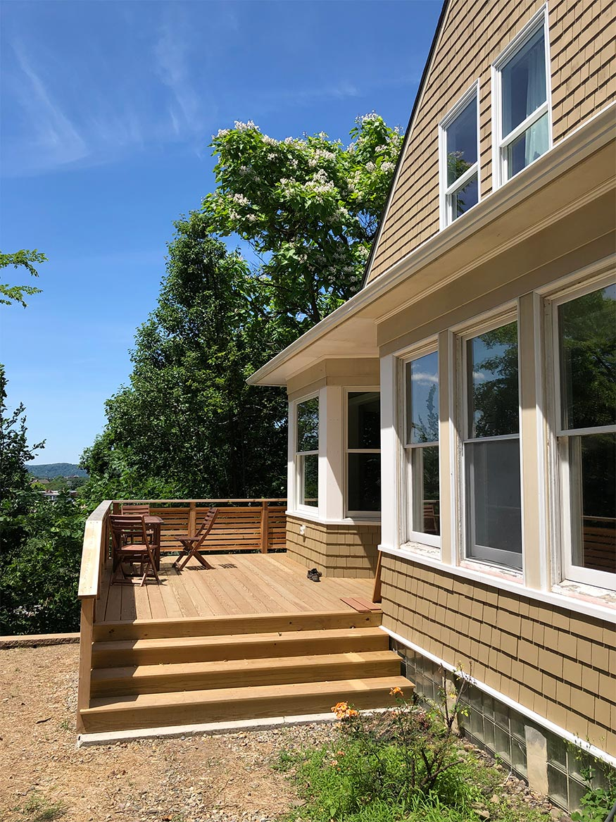 cottage house renovation Mary Cerrone Architecture & Interiors Pittsburgh
