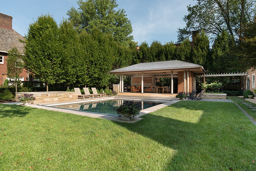 Pool Pavilion. Mary Cerrone Architect, Shadyside, PA
