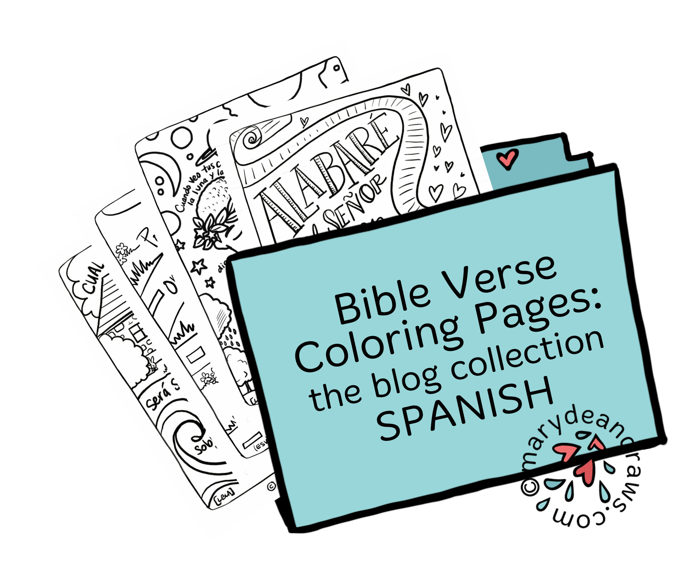 Printable Bible Verse Coloring Pages: BLOG COLLECTION ...