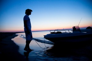 A fishing day in Apulia