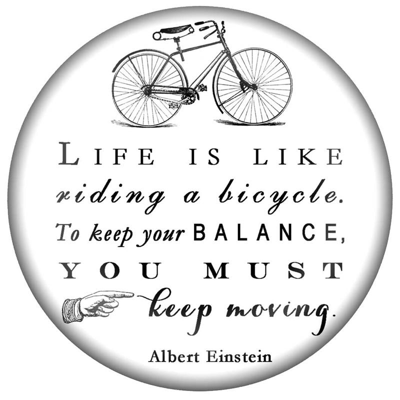 Albert Einstein Life Is Like Riding A Bicycle Quotes: May 16th, 2017 Bulletin