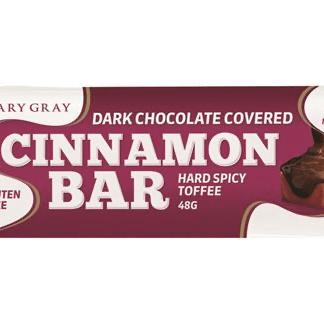 Choc Coated Hard Cinnamon Bar 48g