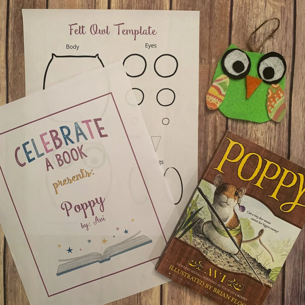 The Poppy Book Club Guide is full of activities, art, food, craft, and discussion questions.