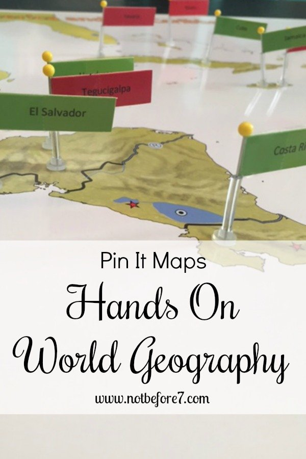 Looking for a hands on way to learn World Geography? Look no further than Pin It Maps. Check out how we are using them.
