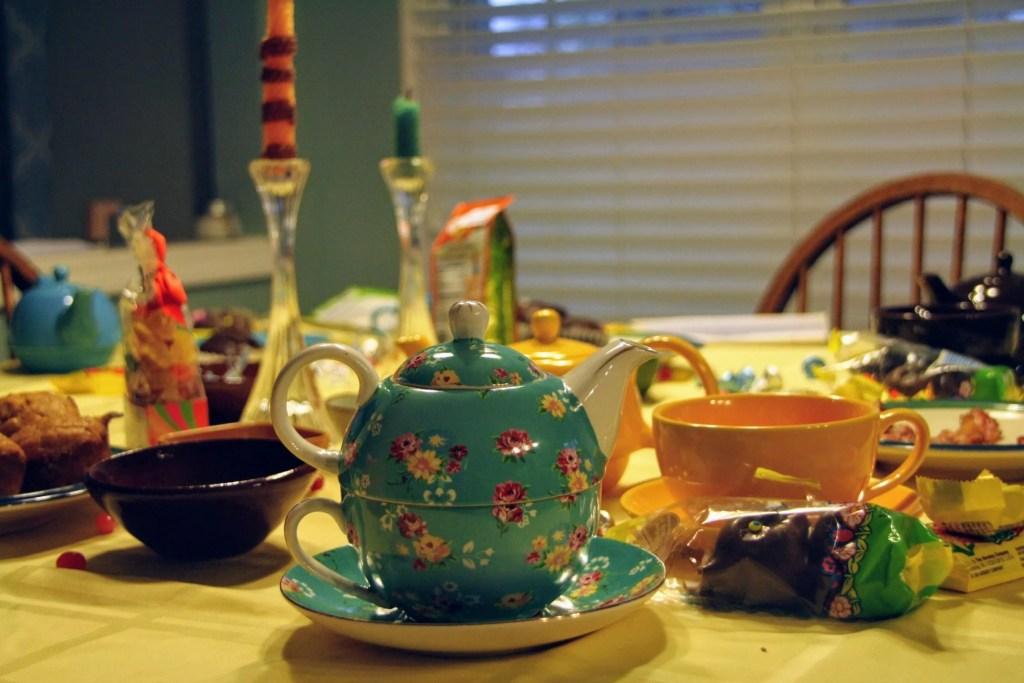 poetry teatime in your homeschool