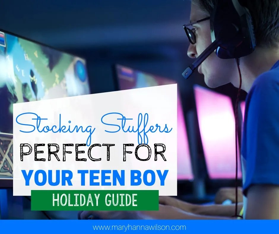 The Best Stocking Stuffers for Teen Boys