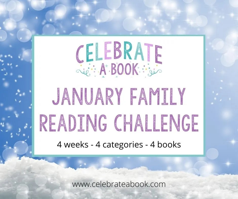January Reading Challenge link to the booklists and printables