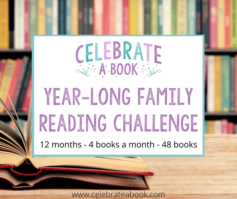 A Year long reading challenge for families.