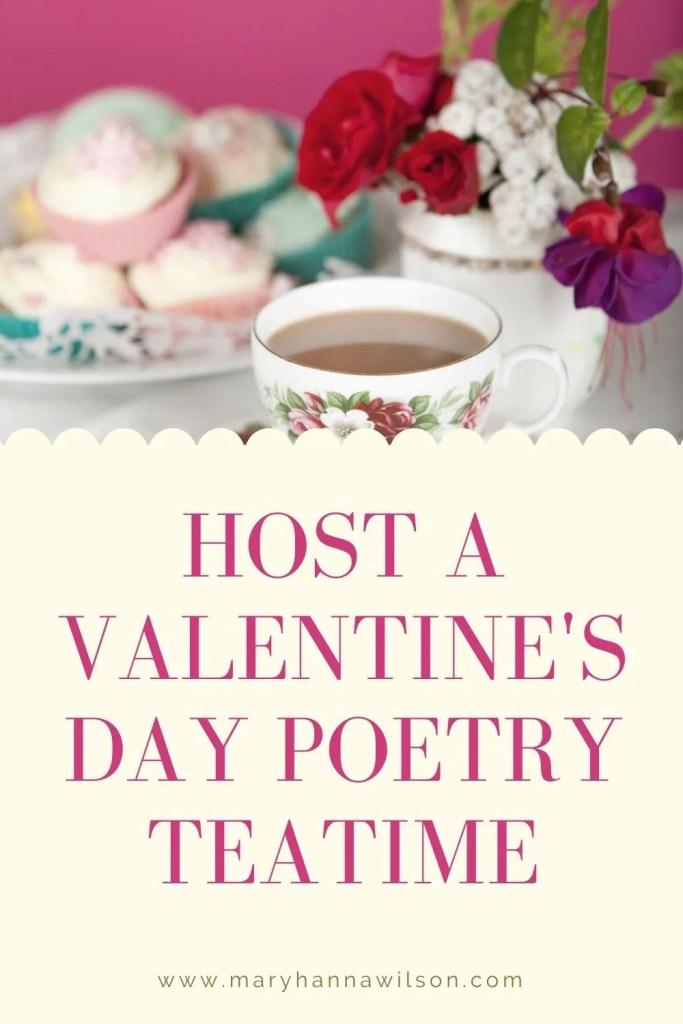 Valentine's Day Poetry Teatime