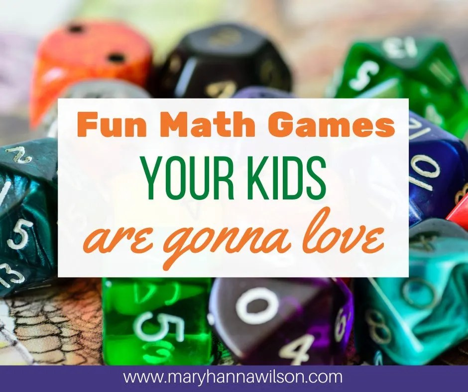 Math games your kids are goin gto love to play.