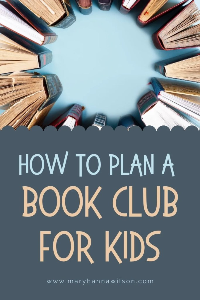 How to Plan a Book Club for Kids