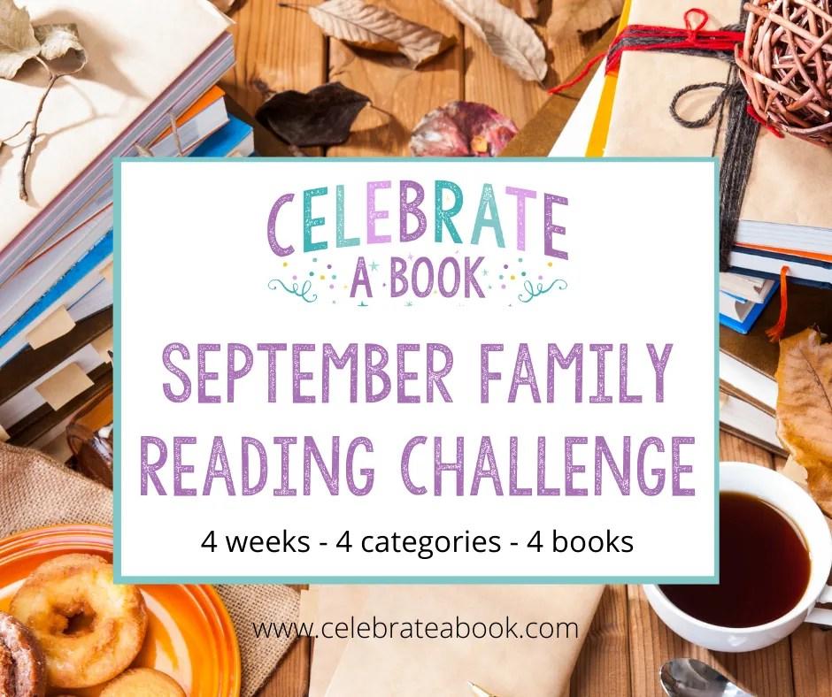 Family Reading Challenge for September