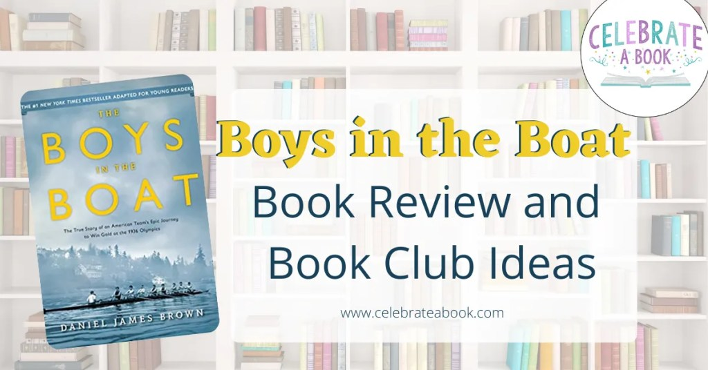 Book review and ideas for Boys in the Boat