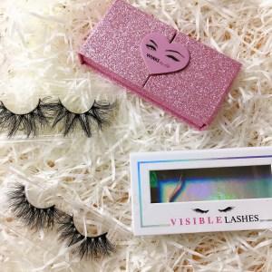 empty eyelash packaging