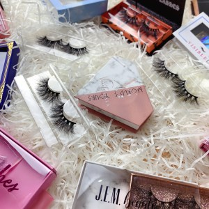 lahandmade mink eyelashes manufacturersshes and packaging factory