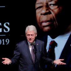 Former President Bill Clinton speaks during funeral services for Rep. Elijah Cummings. (AP Photo/Julio Cortez, Pool)