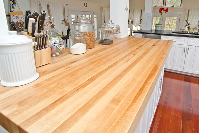 Maryland Wood Countertops - Finishes on Maple Countertops id=82332