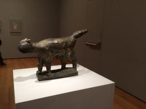 """Picasso """"Cat"""" 1941 MOMA show """"Picasso's Sculpture"""" Fall 2015"""