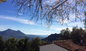 A clear winter day in Gaucin
