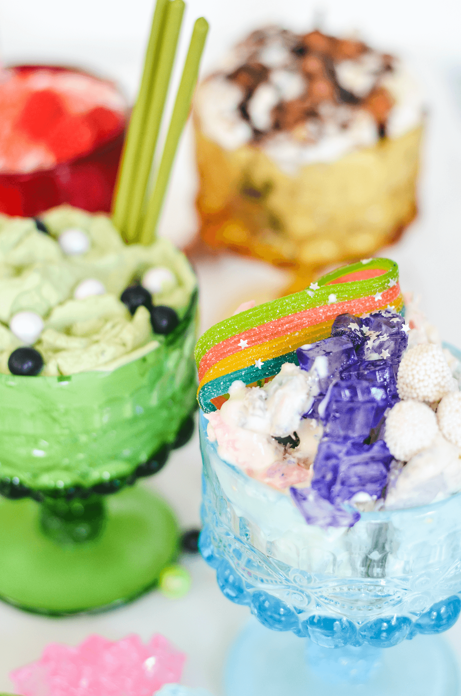 Thai Rolled Ice Cream Sundaes Recipe and Tutorial