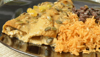 Roasted vegetable lasagna with queso fresco mary makes good mango enchiladas forumfinder Gallery