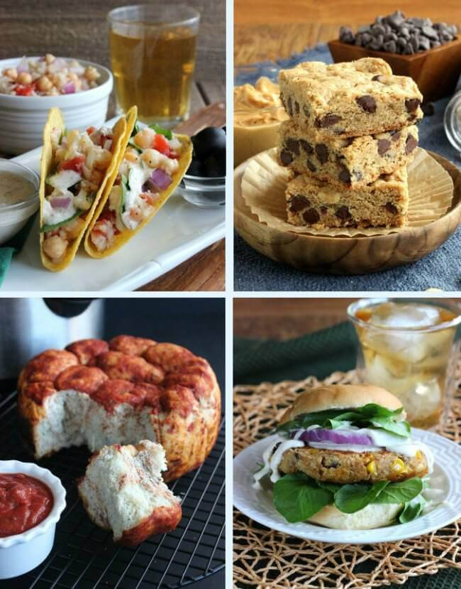 Recipes from Make Ahead Vegan by Ginny Kay McMeans