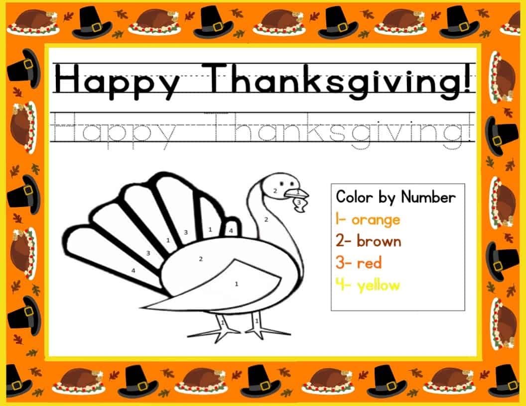 Thanksgiving Printables Mary Martha Mama