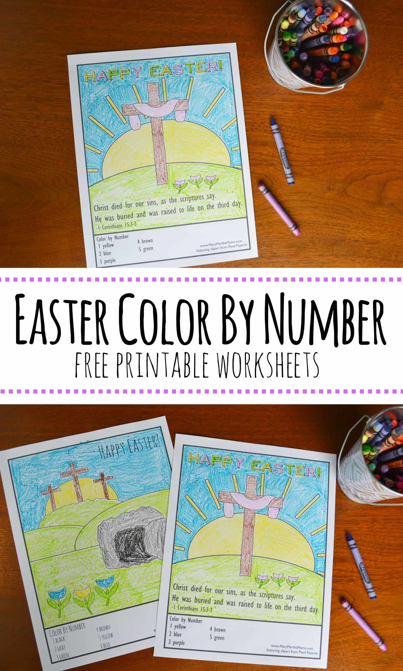 Awesome Easter Pictures To Color Mary Martha Mama