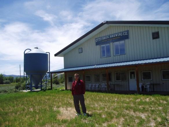 John outside brewery