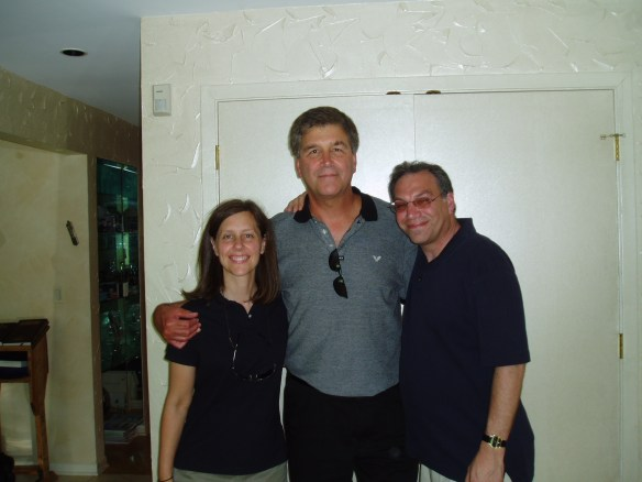 John with Bryna and Moe