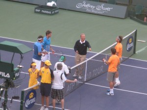 Federer/Wawrinka vs. Lopez/Nadal