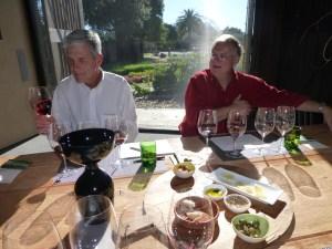 We enjoy the tasty treats that Stone Edge Farm Winery has supplied