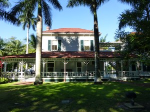 The Edison home in Ft. Myers