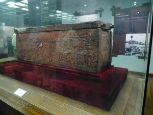 Coffin of one of the girls sacrificed for the burial of Marquis Yi of Zeng