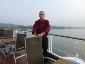 John cruising along the Yangtze