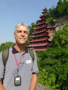 John by the pagoda