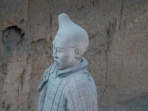 A different terra cotta warrior