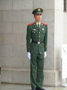 Modern day Chinese warrior