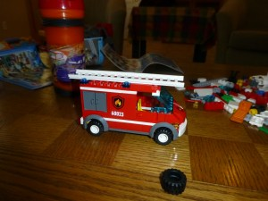 The finished fire truck